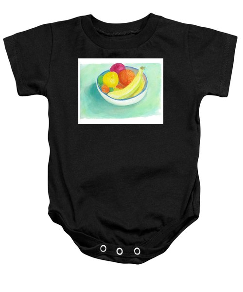 Fruit Bowl Baby Onesie