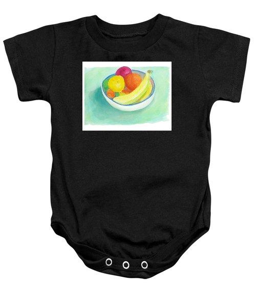 Fruit Bowl Baby Onesie