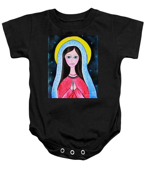 Full Of Grace Baby Onesie
