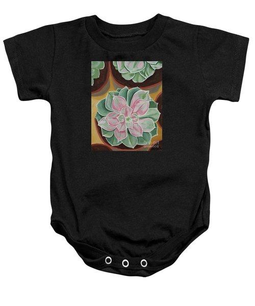 Garden Rossette Baby Onesie