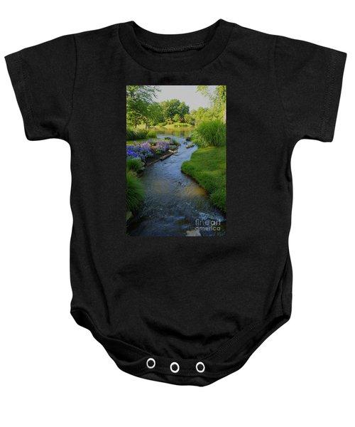 Garden Stream Hdr #9795 Baby Onesie