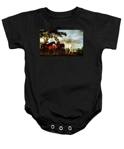 Horses Baby Onesie