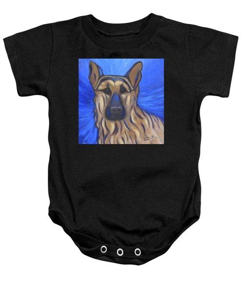 German Shepherd Baby Onesie
