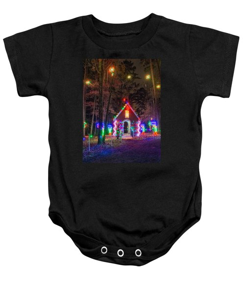 Ginger Bread House Baby Onesie