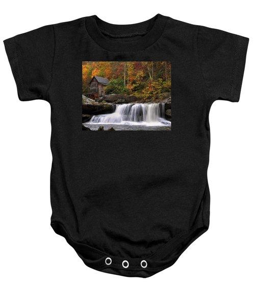 Glade Creek Grist Mill - Photo Baby Onesie