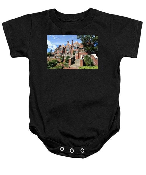 Glensheen Mansion Exterior Baby Onesie by Amanda Stadther