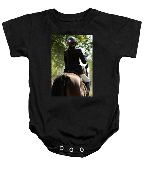 Going Over The Course Baby Onesie
