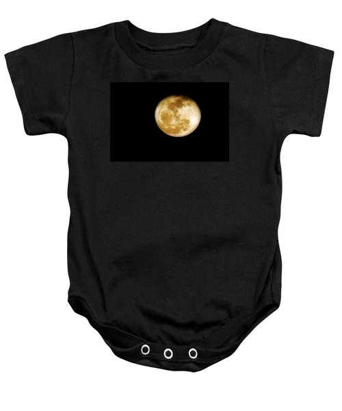 Golden Moon Baby Onesie