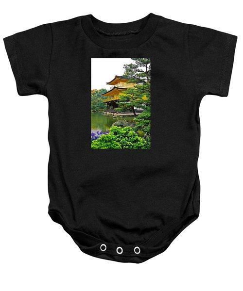 Golden Pavilion - Kyoto Baby Onesie