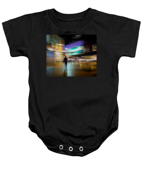 Baby Onesie featuring the photograph Golden Temptations by Alex Lapidus