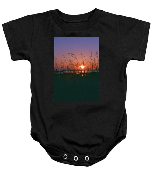 Goodnight Sun Baby Onesie