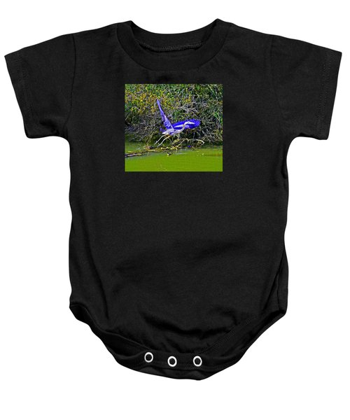 Gr8 Heron Flight Baby Onesie