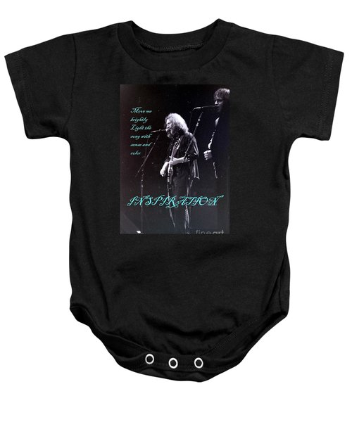 Grateful Dead - Inspiration Move Me Brightly  Baby Onesie
