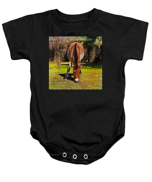 Grazing With An Attitude Baby Onesie
