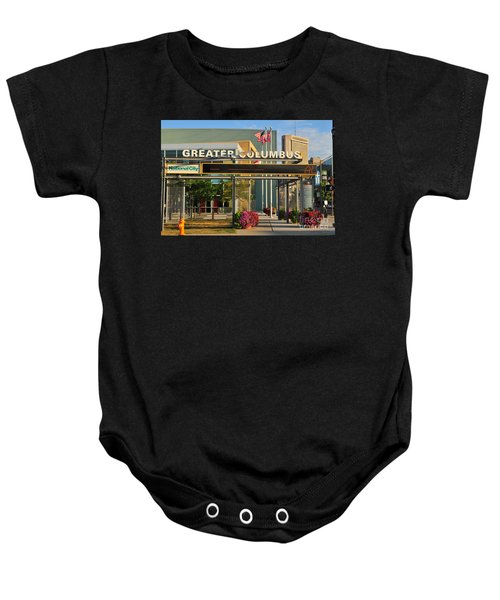 D8l-245 Greater Columbus Convention Center Photo Baby Onesie