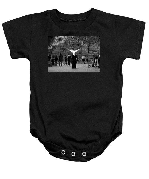 Habit In Central Park Baby Onesie