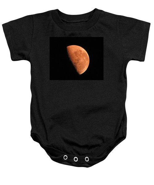 Half Moon Baby Onesie