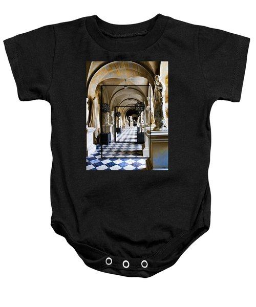 Halls Of Versailles Paris Baby Onesie