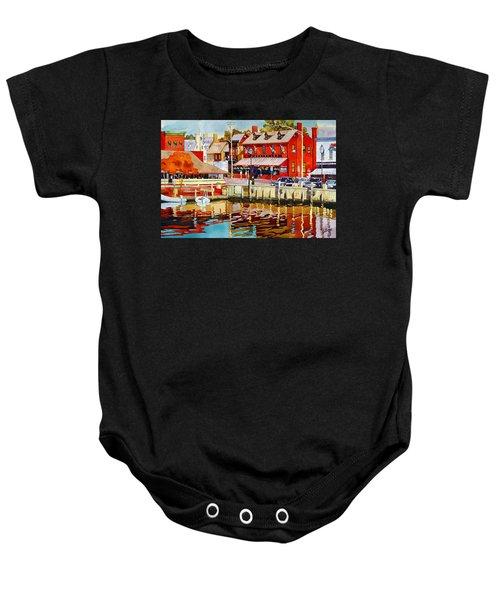 Harborfront Tavern Baby Onesie