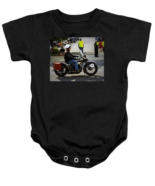 Harley 9 Baby Onesie