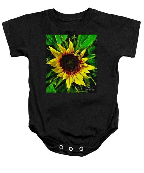 Helianthus Annus - Sunnydays Baby Onesie