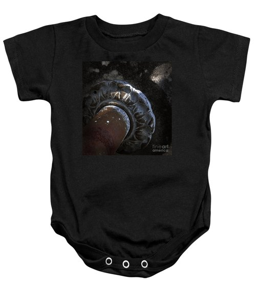 Here To Stay Baby Onesie