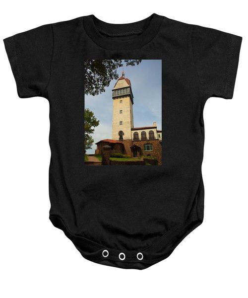 Heublein Tower Baby Onesie