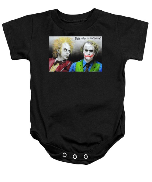 Hey, Why So Serious? Baby Onesie
