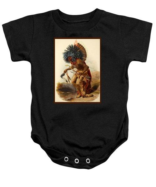 Hidatsa Warrior Baby Onesie