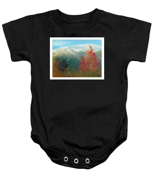 High Country View Baby Onesie