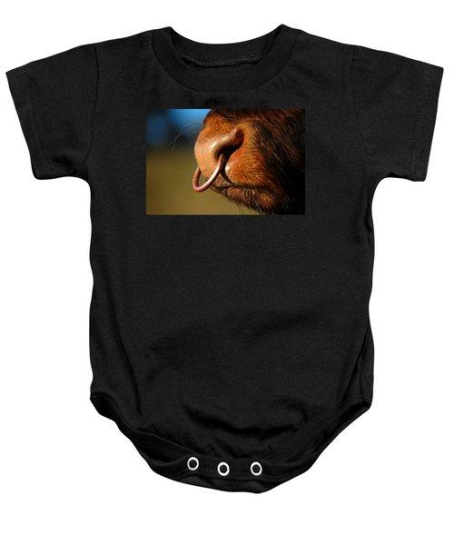 Highland Bull Baby Onesie