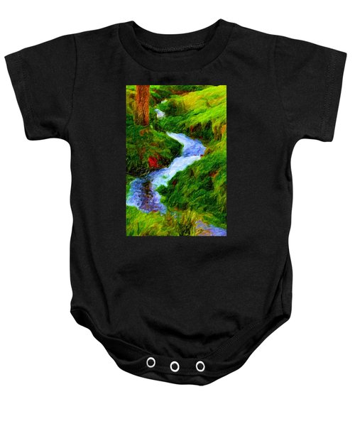 Hill And Rill Baby Onesie