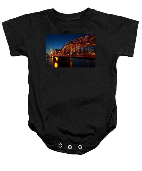 Hohenzollern Bridge Baby Onesie