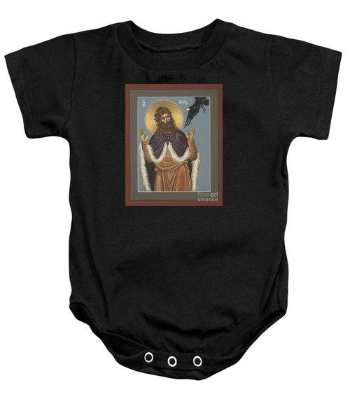 Holy Prophet Elijah 009 Baby Onesie