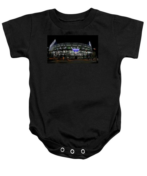 Home Of The Cleveland Indians Baby Onesie