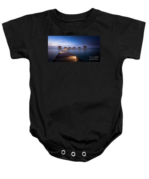 Honeymooners Paradise Baby Onesie