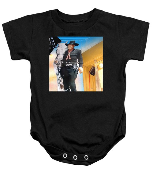 Hopalong Cassidy Cardboard Cut-out Tombstone Arizona 2004 Baby Onesie
