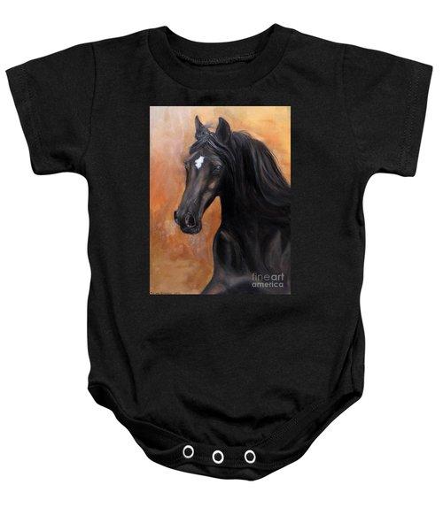 Horse - Lucky Star Baby Onesie