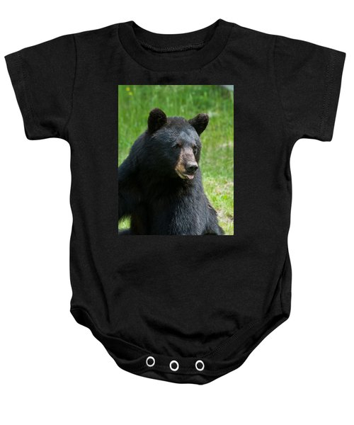 Hot Day In Bear Country Baby Onesie