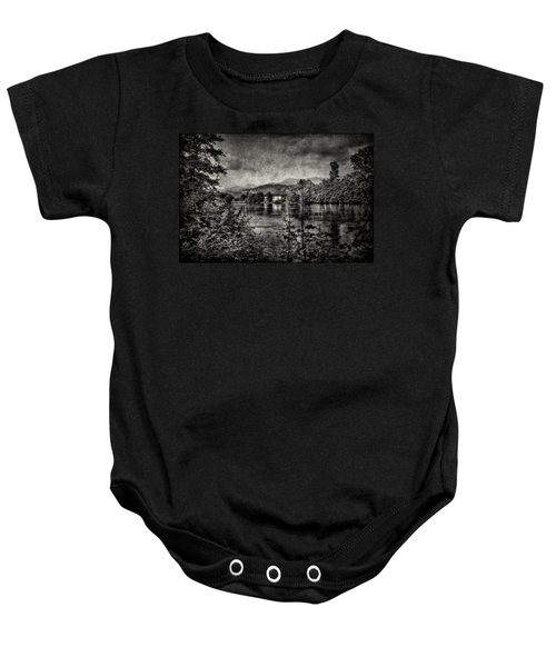 House On The River Baby Onesie
