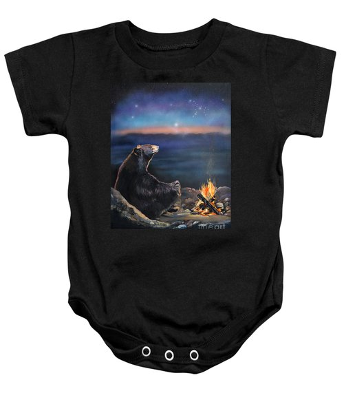 How Grandfather Bear Created The Stars Baby Onesie