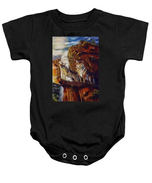 Howling For The Nightlife  Baby Onesie