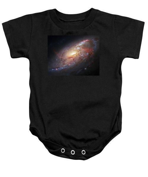 Hubble View Of M 106 Baby Onesie