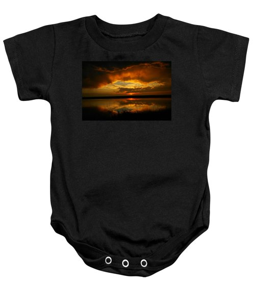 In All His Glory Baby Onesie