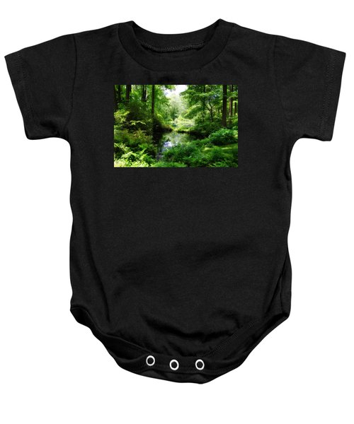 In The Stillness Baby Onesie
