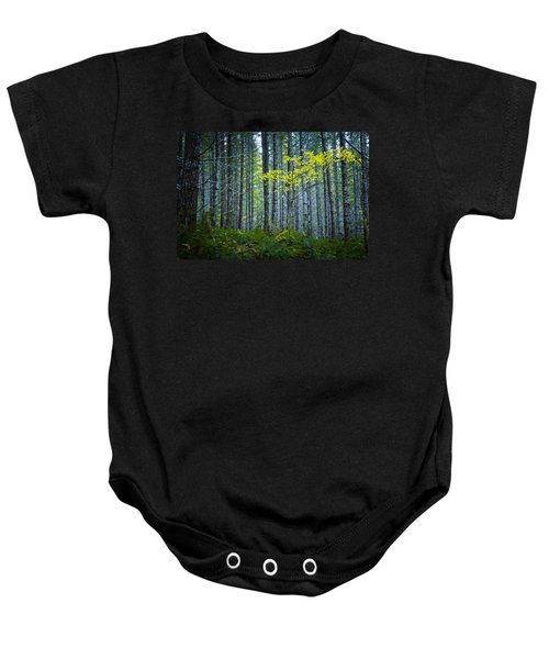 In The Woods Baby Onesie
