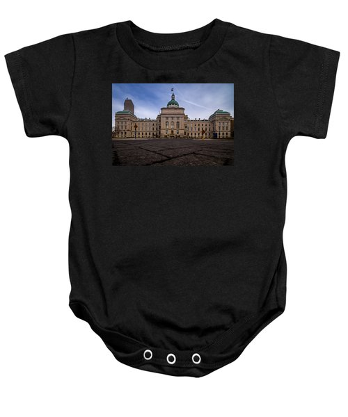 Indiana Capital Building - Back Baby Onesie