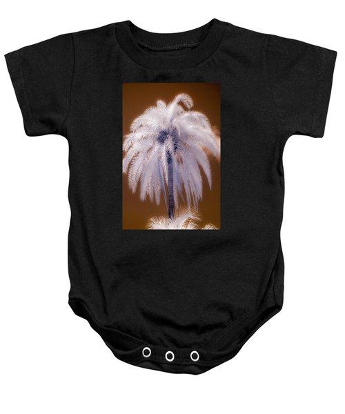 Infrared Palm Tree Baby Onesie