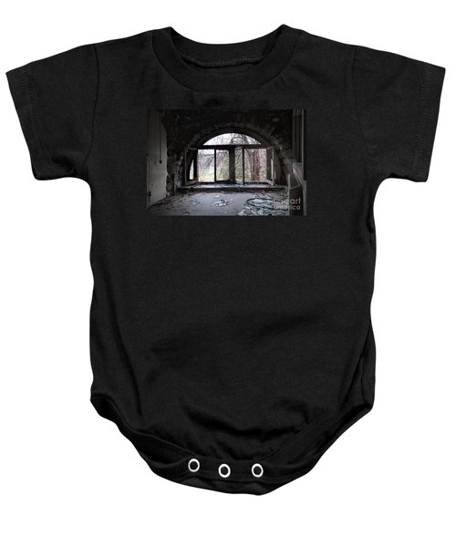 Inside Looking Out Baby Onesie