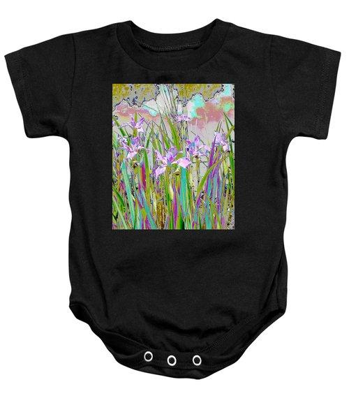 Iris Garden Baby Onesie